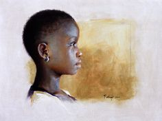 """""""Art of Face: Profiles, Side Views & Tonal Greys"""" Exhibition at the Portraits, Inc. New York Gallery"""
