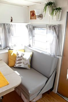Little Camper Home Tour   Come and see a tour of our small camper home. See how we optimized our small space and made it home.   TheNoshery.com - @thenoshery #dreamsmallproject
