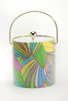 Deco Palm Ice Bucket Trina Turk