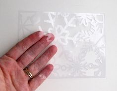Finding Time to Create: Acetate in the Silhouette Cameo