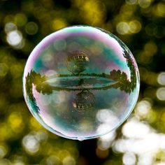 World Landmarks Reflected in Bubbles (10 photos) - My Modern Met