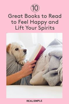 10 Good Books to Read to Feel Happy | Read one of these 10 books to gain some wisdom about happiness, and keep your good mood going for the long haul. #realsimple #bookrecomendations #thingstodo #bookstoread