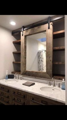 70 Cool Farmhouse Bathroom Makeover Design Ideas 70 Cool Farmhouse Bathroom Makeover Design Ideas 75 Cool Farmhouse Bathroom Remodel Decor Gorgeous Farmhouse Bathroom Decor Ideas Adorable Farmhouse Bathroom Decor Ideas And… Bad Inspiration, Bathroom Inspiration, Cool Bathroom Ideas, Bath Ideas, Basement Bathroom Ideas, Mirror Inspiration, Basement Designs, Bathroom Pictures, Wall Pictures