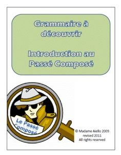 $ This past tense French teaching package combines 3 of best selling products for one reduced price.  Includes step by step teaching instructions and answer key where appropriate. A variety of small group, large group and individual or partner work is provided in this set of material for middle or high school FSL class.