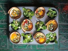Muffin Tinned Huevos Rancheros Recipe - Viva