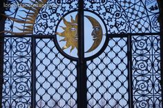 Another iron gate!