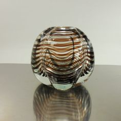 Hey, I found this really awesome Etsy listing at https://www.etsy.com/listing/214936850/1950s-kalmar-tora-pors-blown-art-glass