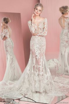 Zuhair Murad #Bridal Spring 2016 #Wedding Dresses | Wedding Inspirasi #weddings #weddinggown #weddingdress