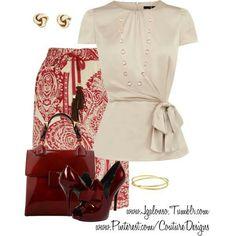 Classic work attire