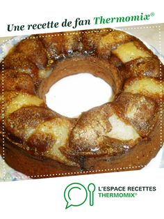 Choco-Poire rapide par Tiphaine46. Une recette de fan à retrouver dans la catégorie Pâtisseries sucrées sur www.espace-recettes.fr, de Thermomix<sup>®</sup>. Dessert Thermomix, Onion Rings, Bagel, Biscuits, Doughnut, Sausage, Food And Drink, Bread, Cookies