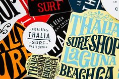 Since 2001, Thalia Surf has curated a unique surf shop experience specializing in handcrafted surfboards, retro surf clothing, and vinyl records