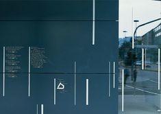 büro uebele // kronen carré stuttgart orientierungssystem stuttgart 2001