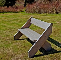 Reclaimed Wood Garden Slouch Bench ~ 5 Sizes. Priced From.....