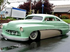 ◆ Visit ~ MACHINE Shop Café ◆ ◆Customs As Art @ MACHINE◆ (1950 Mercury Custom Led Sled)
