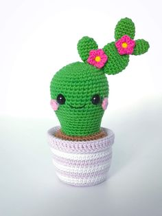 Room Inspiration, Kids Room, Crochet Hats, Kawaii, Amigurumi, Cactus, Pastel, Knitting Hats, Room Kids