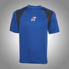 Keep cool in this #KansasUniversity Adrenaline S/S Tee l Gameday Super Store
