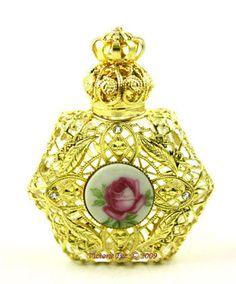 Jeweled Perfume Bottles | Jeweled Perfume Bottles; Czech Republic