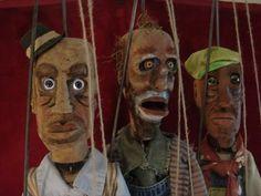 Slightly creepy marionettes