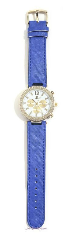 2014 Spring / Summer Collection  W-130106 Time Will Tell - Cobalt contact me at www.justjewelry.com/gettingbeautiful