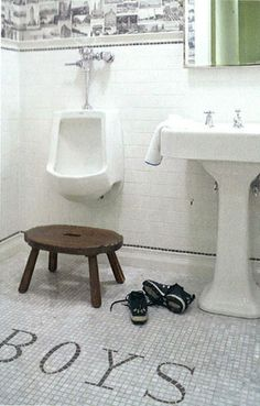 I say, yeah, just go all the way with the bathroom - his and hers. I like it a lot.