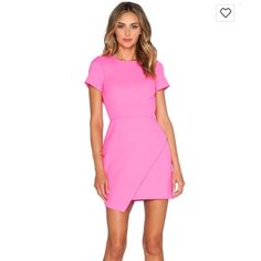 NBD x Naven Twins pink open back mini dress size M NBD x Naven pink mini dress with open back, size medium. Worn once, perfect condition. Open to offers! Naven Dresses Mini