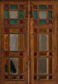 Part of old door- Kashan