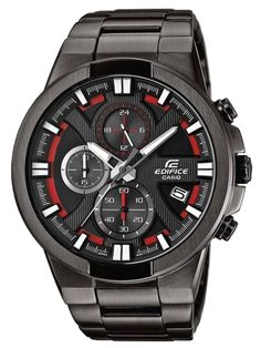 Casio Edifice Screw Lock Back Stainless Steel Watch for sale online Dream Watches, Sport Watches, Luxury Watches, Stylish Watches, Cool Watches, Watches For Men, Gents Watches, Casual Watches, Casio Digital
