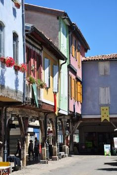 Mirepoix ~ beautiful market town, a must visit if you're in South West France