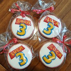 Toy Story Birthday Cookies