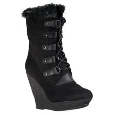 very sexy. very hot. http://www.overstock.com/Clothing-Shoes/Wild-Diva-Womens-Jayma-Wedge-Heel-Faux-Fur-trimmed-Boots/7217944/product.html?CID=214117 $37.29