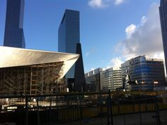 Rotterdam Central Station & Nationale Nederlanden Building 2013