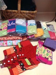 Making feminine hygiene kits for girls around the world so they ...