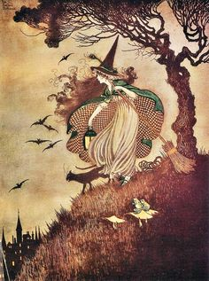 The Little Witch by Ida Rentoul Outhwaite
