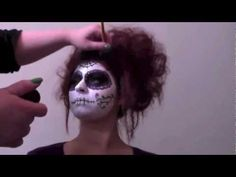Day of the Dead Make up tutorial by @Lolita Noir #DayoftheDead #sugarskull #halloween