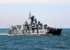 """misil pequeño aerodeslizador """"Samum"""". Entrada en funcionamiento - 2000. Accesorio - La flota del Mar Negro."""