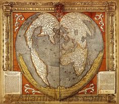 Oronce Finé Latin: Orontius Finnaeus ( 20 December 1494 – 8 August 1555) was a French mathematician and cartographer. Finé's heart-shaped (cordiform) map projection may be his most famous ill…