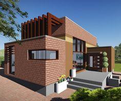 5bf032c639 Ja spravím návrh fasády rodinného domu za 100€