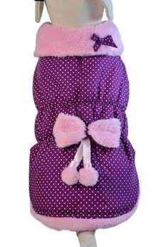 ropa para mascotas, ropa para perros. Modelo Angelique ideal para proteger a nuestras mascotas del frio