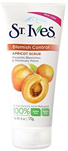 St Ives Naturally Clear Blemish and Blackhead Control Scrub Apricot 6 Ounce Pack of 2 * Continue to the product at the image link.(This is an Amazon affiliate link)