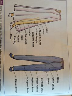 Shirt and pant lengths