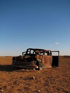 Abandoned Car                           by  JudithKristina