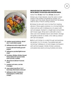 "I saw this in ""What's for Dinner?"" in Martha Stewart Living March 2014."