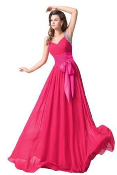 Sunvary 2013 New Spagehtti Strap Ruffle Long Evening Dresses Prom Gowns with Sequins