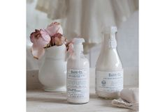 Barr & co Shabby Chic bath salts and shae butter lotion. #sponsored