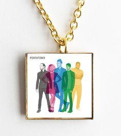 Pentatonix - Self Titled - Mini Album Cover Art Pendant Necklace