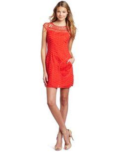 http://amzn.to/Hz0jGV              #Robert Rodriguez Women's Lace Shift #Dress