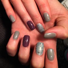 Hideaway haven ibd range nails by me Fall Acrylic Nails, Autumn Nails, Shellac, Modern Design, Range, Overlay, Cookers, Contemporary Design, Ranges