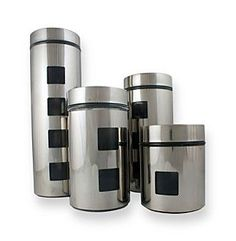 PURELIFE™ by Ragalta® 4-pc. Stainless Steel Canister Set $16.99