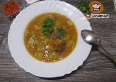 Ír birkagulyás (Irish stew) recept foto Irish Stew, Ramen, Ethnic Recipes, Food, Kitchen, Baking Center, Cooking, Kitchens, Home Kitchens