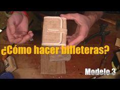 """Cómo hacer una billetera? Modelo 2 """"El Rincón del Soguero"""" - YouTube"""
